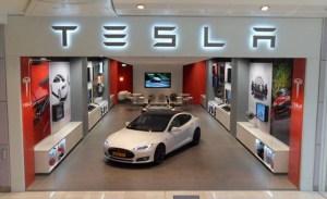 Tesla London Store